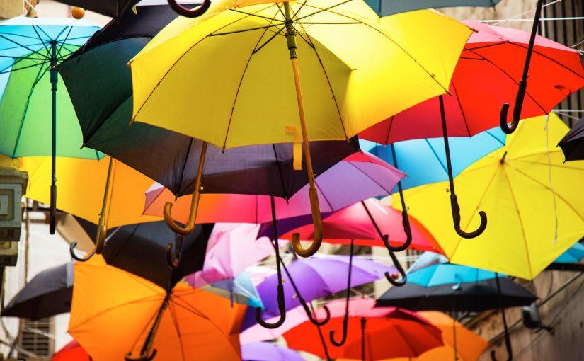 ofertas exclusivas selección asombrosa a pies en 🥇 5 Mejores Paraguas de Colores 【octubre 2019 】| Tipos y ...