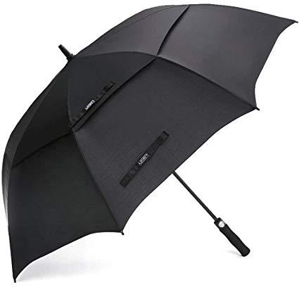 ZOMAKE Paraguas de golf con doble cubierta